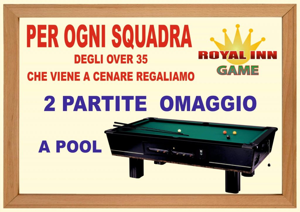 roayl inn over 35 ariano irpino