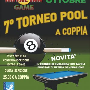 Torneo Pool a coppia avellino ariano irpino