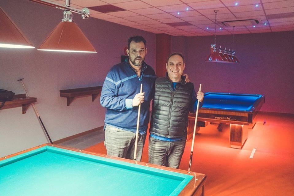 Ciro Davide Rizzo e Daniele Montereali nella nostra sala